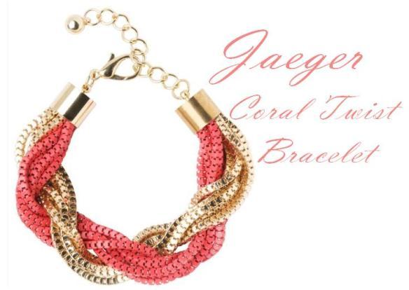 Jaeger Coral Bracelet