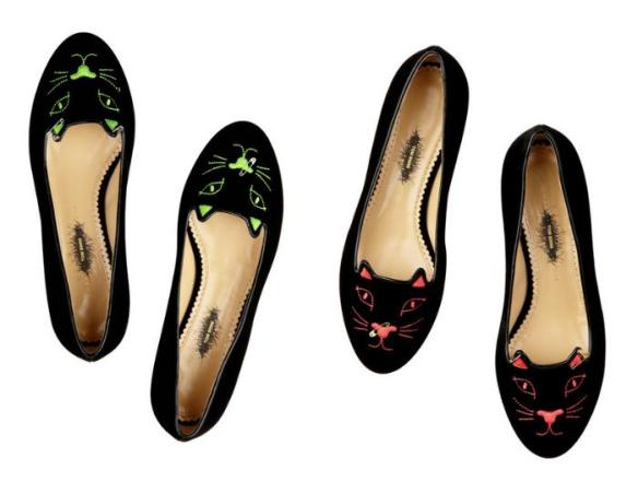 Tom Binns Kitty Cat flats