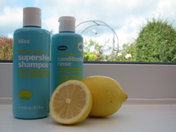 Bliss Lemon & Sage Shampoo and Conditioner