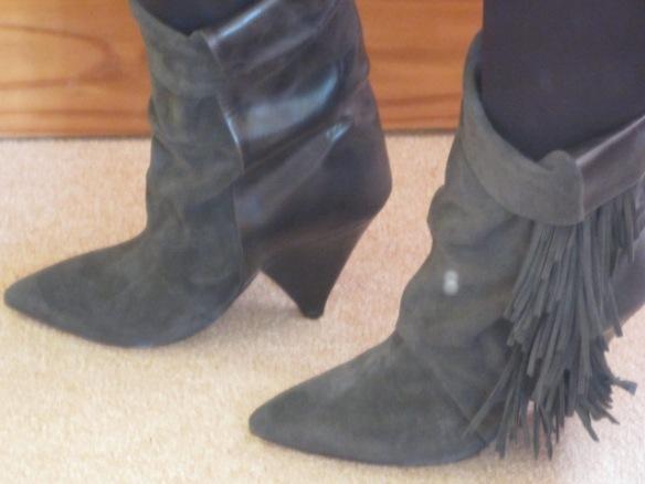 isabel Marant Fringe Boots