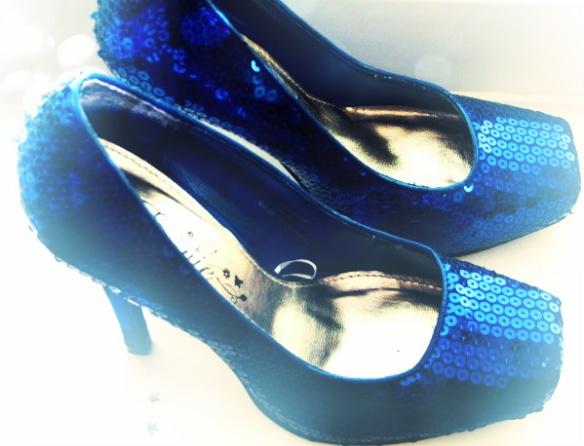 sequins  shoes